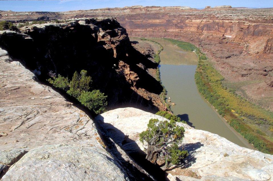Green River at Bowknot Bend near Moab, Utah.
