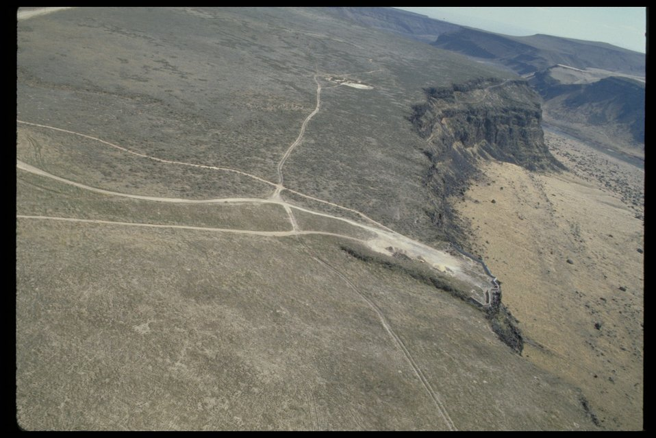 Dedication Point Aerial  Birds of Prey National Conservation Area  BOP  Owyhee Field Office  LSRD  Lower Snake River District