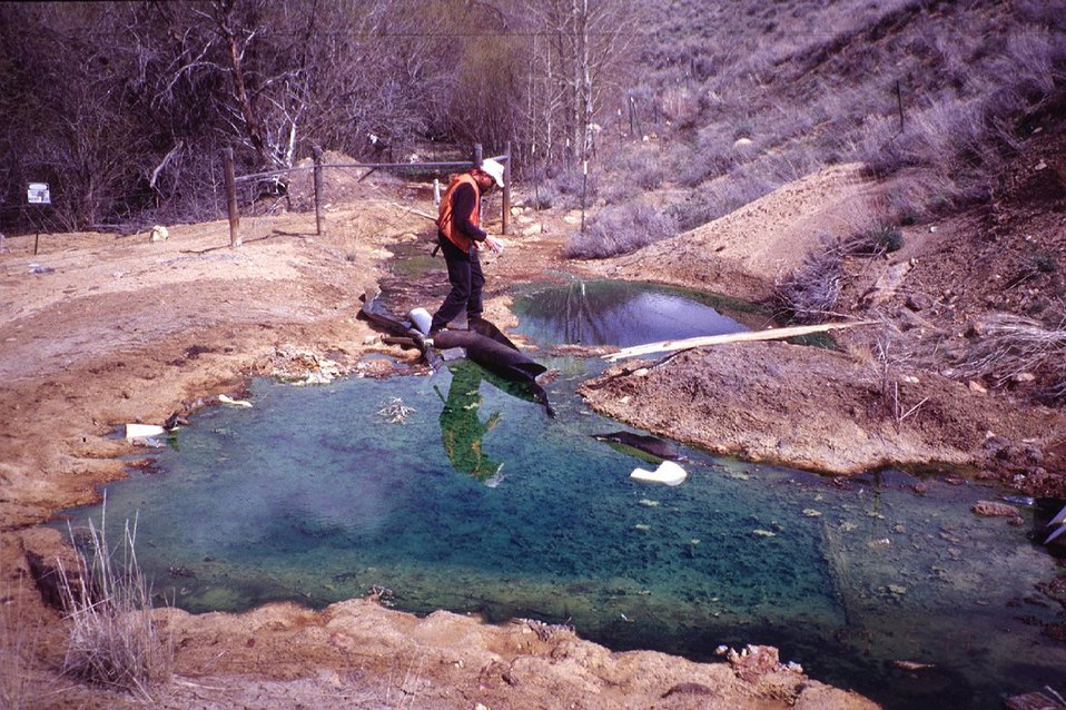 Champagne Creek Acid Mine drainage  Southeastern Idaho  Idaho Falls Field Office  USRD