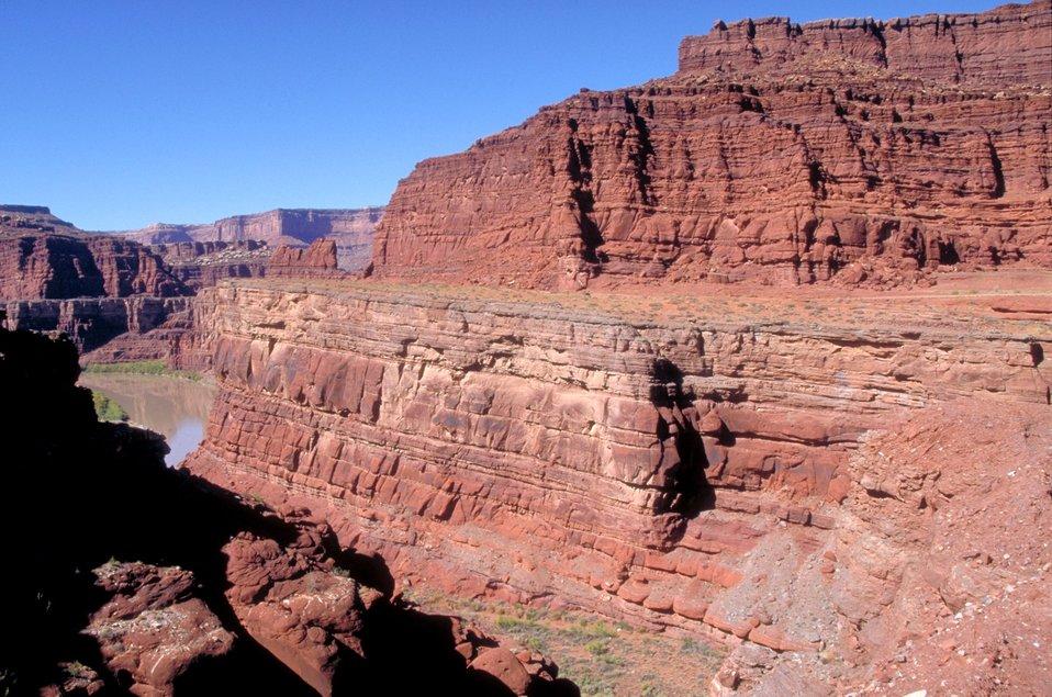 Colorado River near the Shafer Trail.