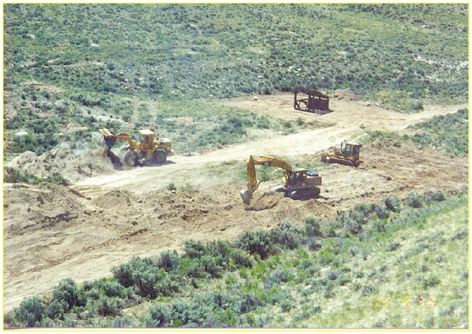 Removal of heavy metal contamination at North Creek  Southeastern Idaho  Idaho Falls Field Office  USRD