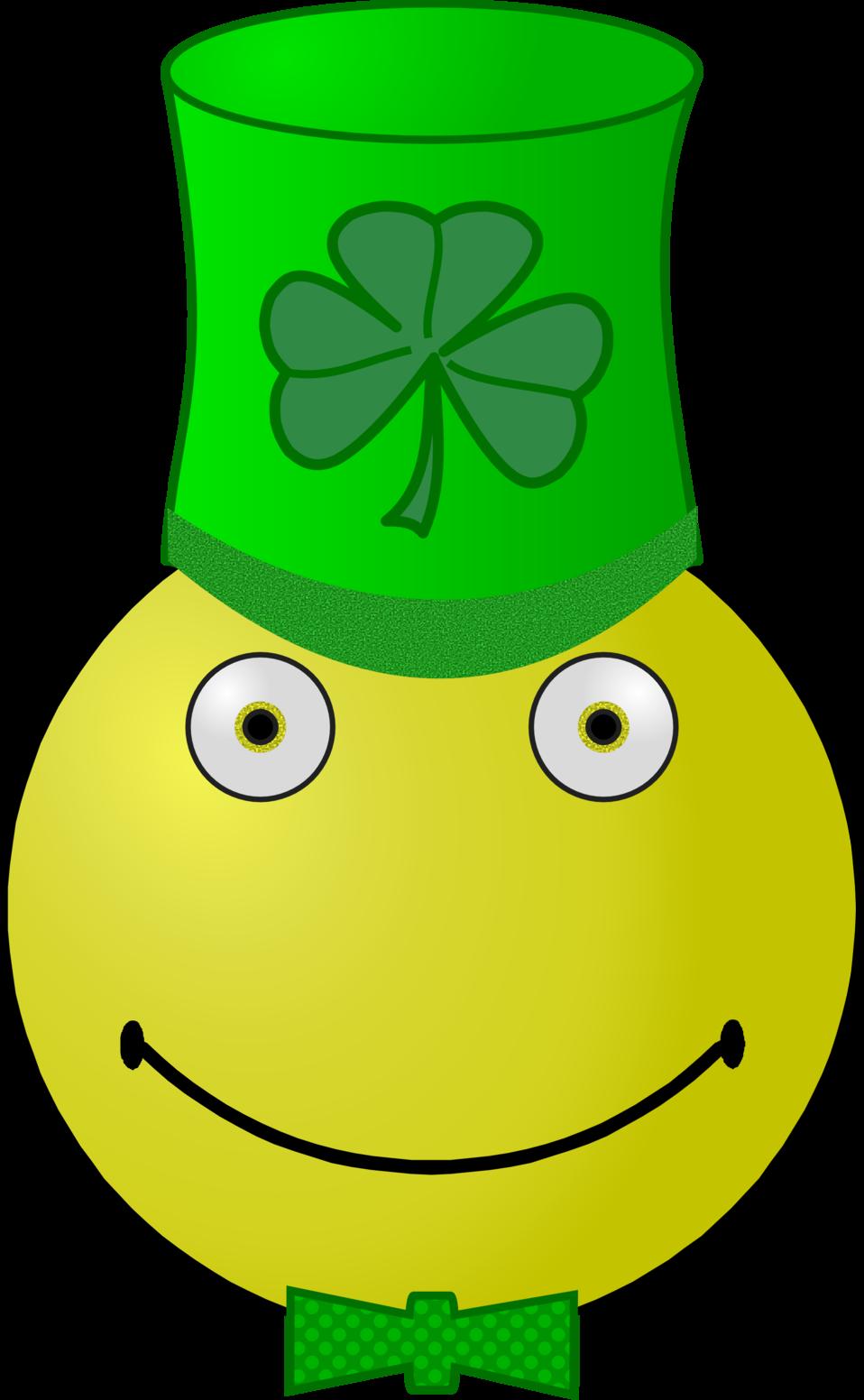 St. Patrick's Day smiley