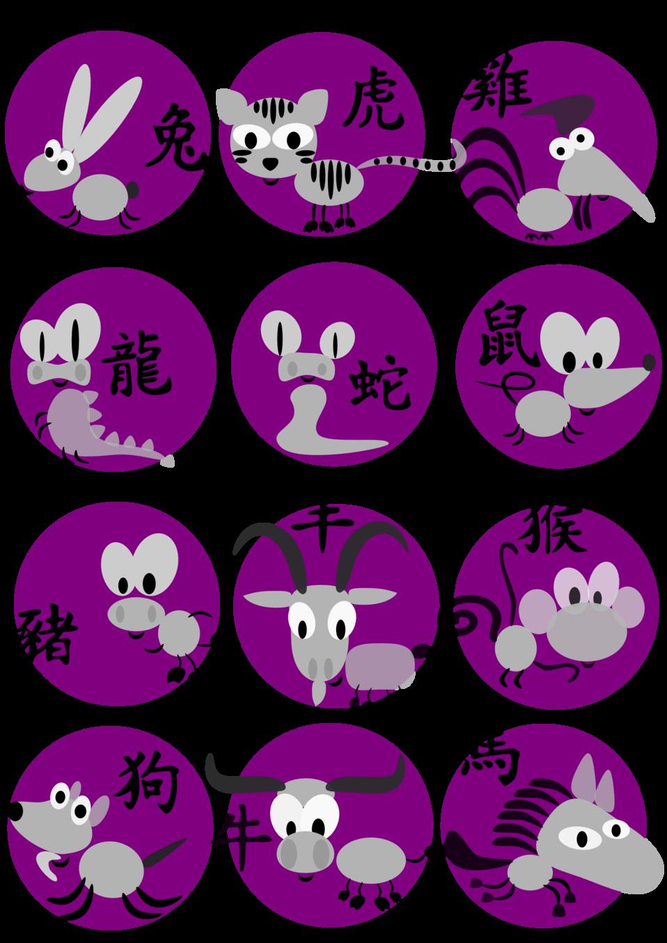 Chinese horoscope animals
