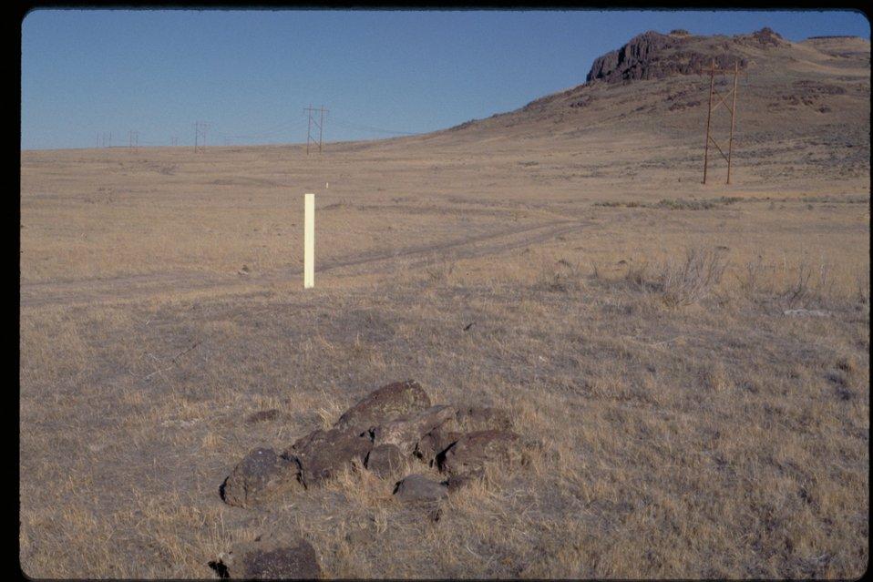 Oregon Trail  Possible Grave near Teapot Dome  Lower Snake River District