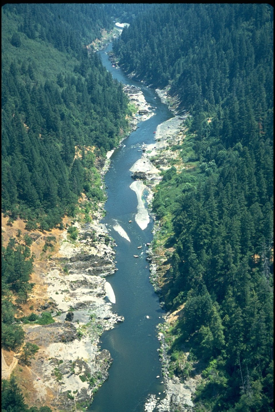 Rogue River - Quail Creek, wild section.