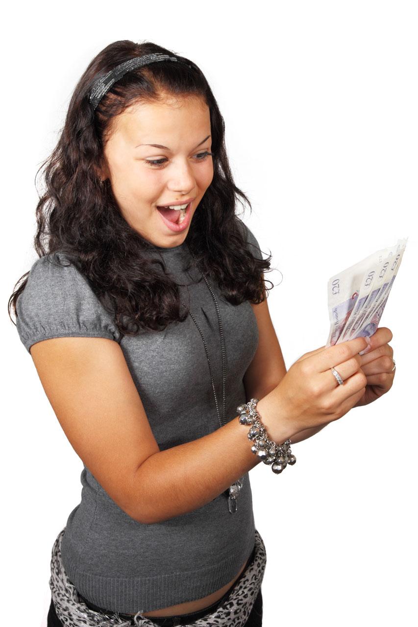 Winning money