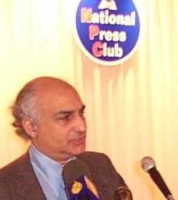 Imad-ad-Dean Ahmad speaking at National Press Club 12/11/01
