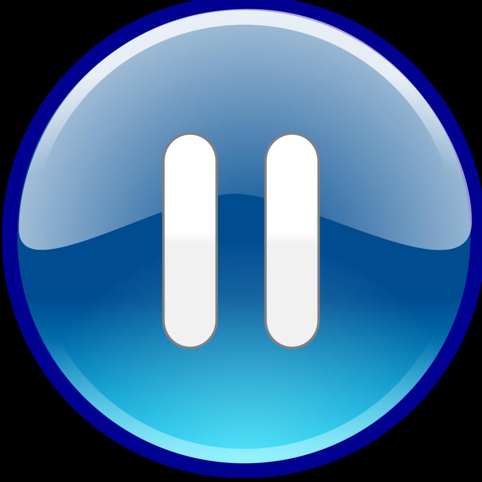 Public Domain Clip Art Image | Windows Media Player Pause Button | ID: 13942682424736 ...