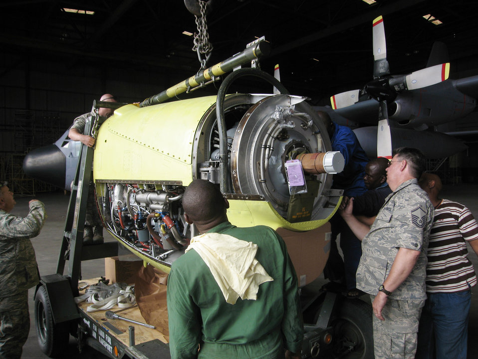 U.S. Air Forces Africa help Nigerian C-130 fly again