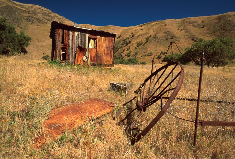 Old Shack  Lower Salmon River  Upper Columbia-Salmon Clearwater District