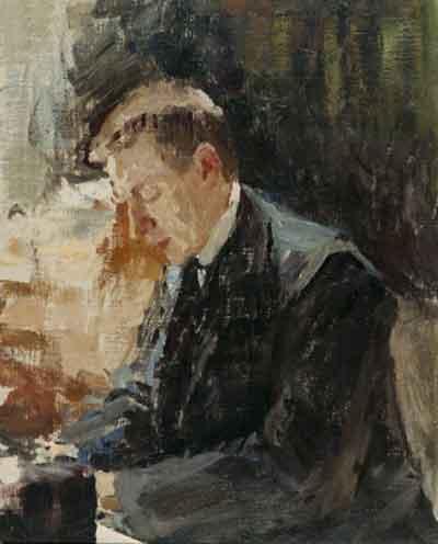 Portrait of Sergei Rachmaninoff