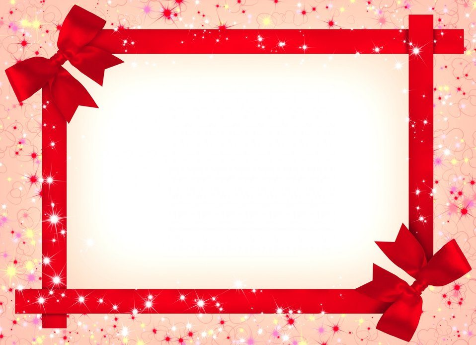 Abstract background with bows