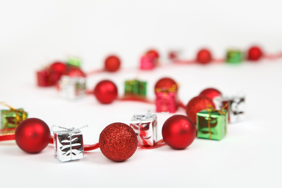 Baubles and presents