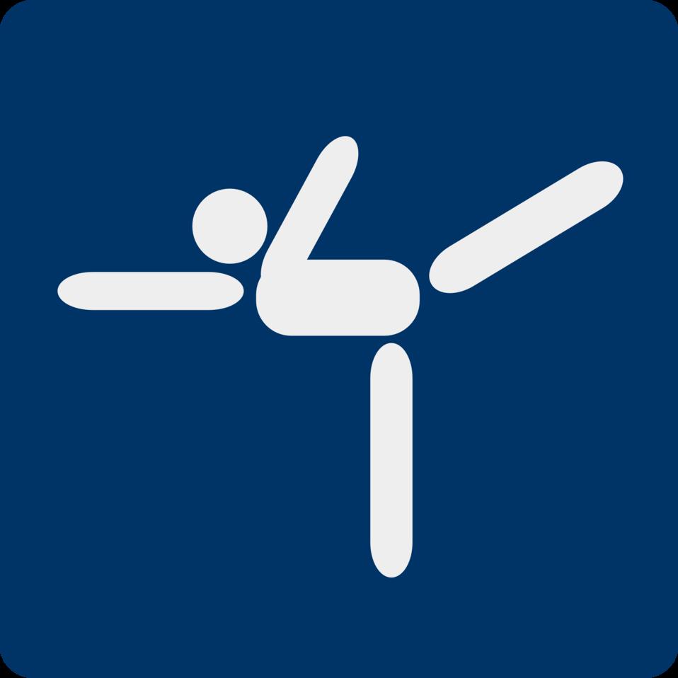ice skating pictogram