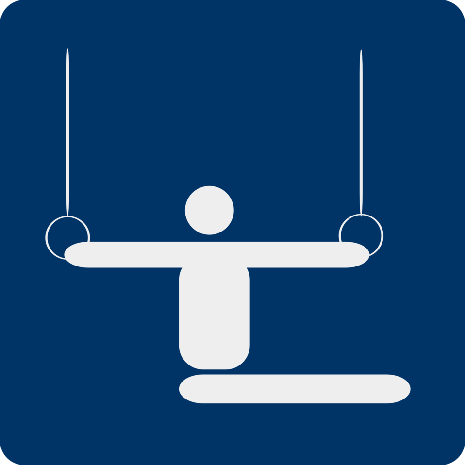 gymnastics pictogram