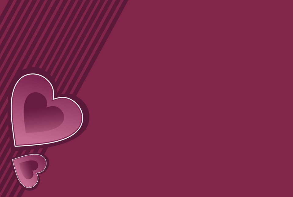 Dark pink heart background