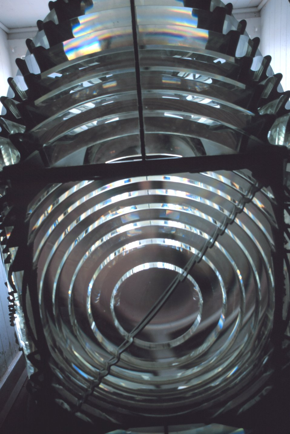 The exquisite workmanship of master lensmakers helped illuminate our coast.  This Fresnel Lens can be viewed at the Hooper Strait Lighthouse at the Chesapeake Bay Maritime Museum.