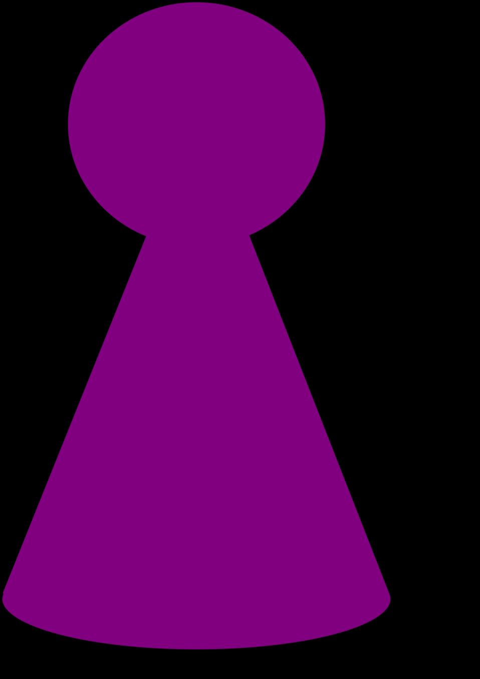 Ludo Piece - Plum Purple