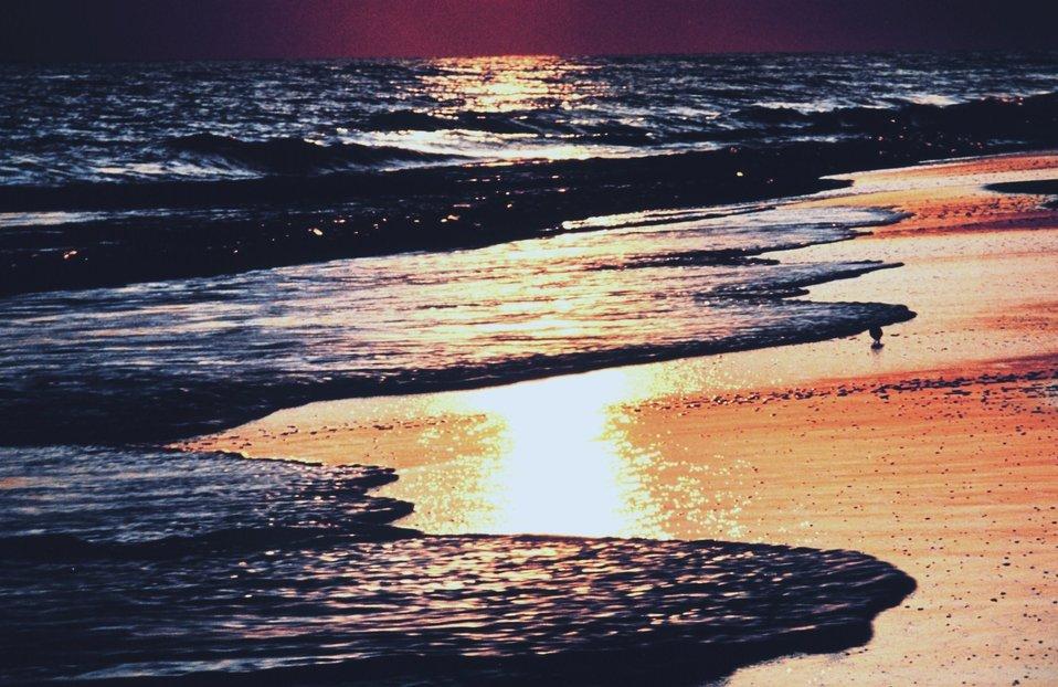 Sunset at Pensacola Beach