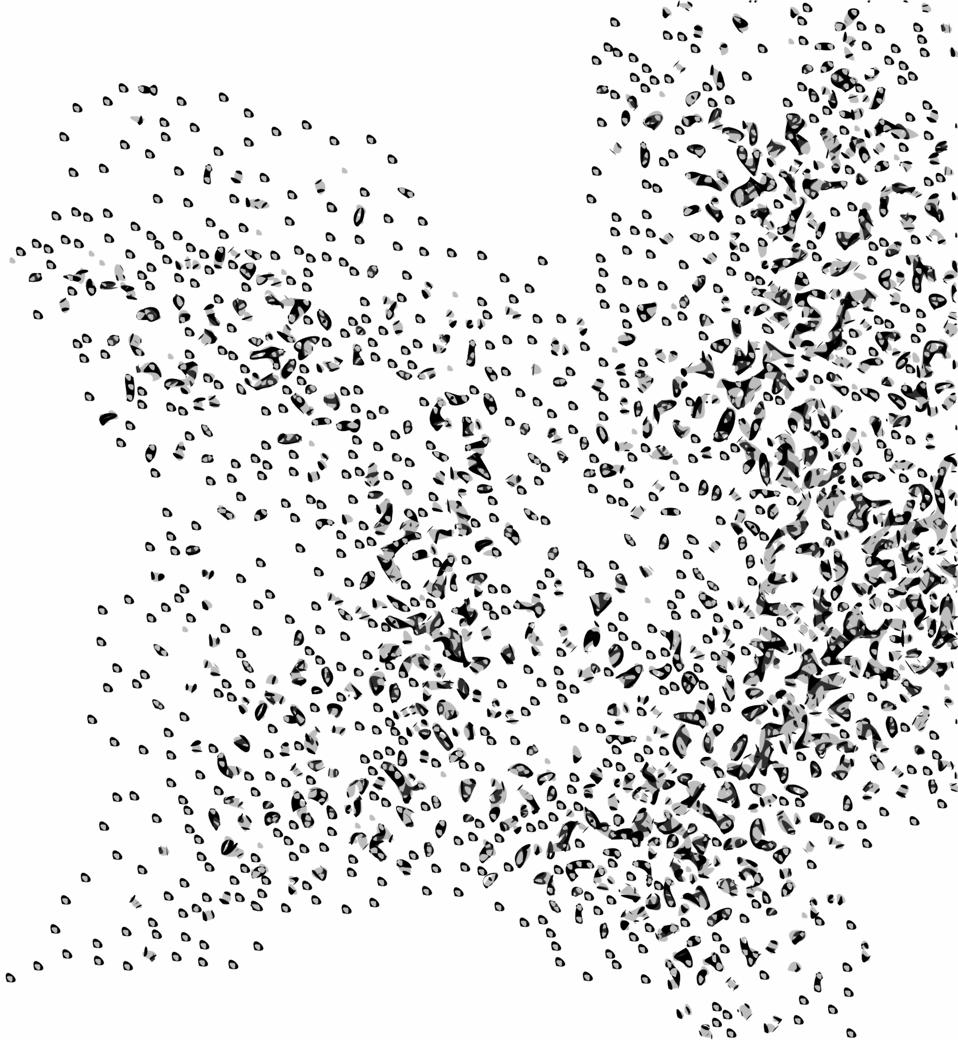 Network Node Cloud Swarm Simple