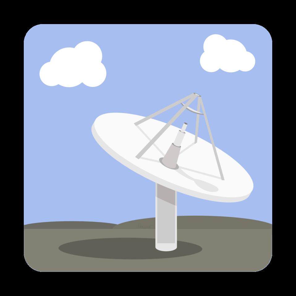 Satellite Dish Base Station