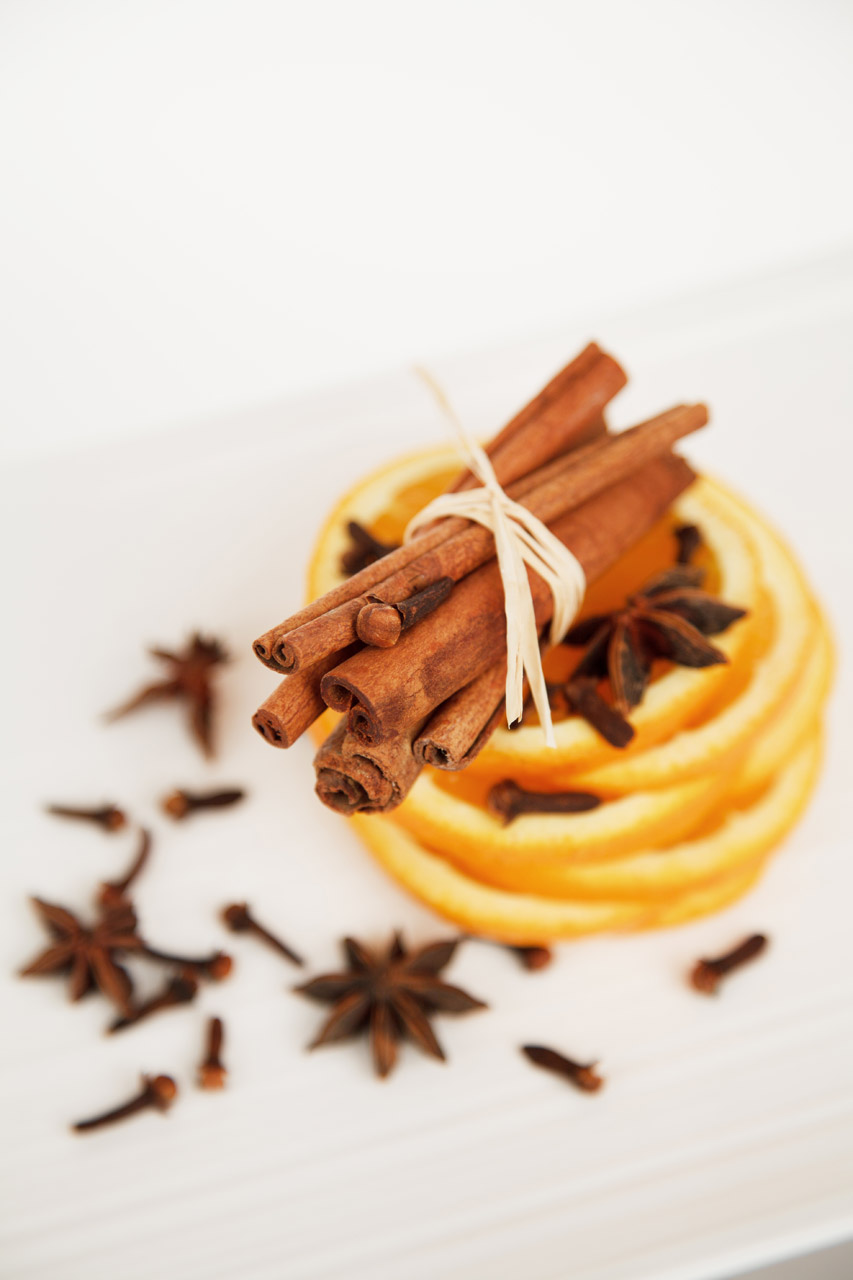 Cinnamon clove and orange