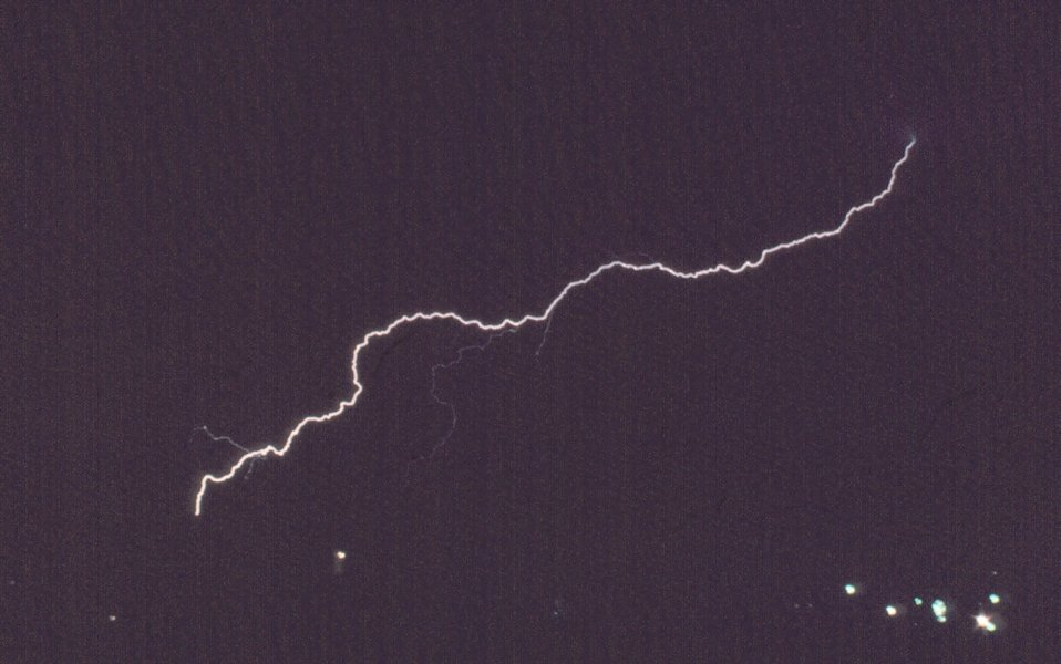 Lightning near Boulder