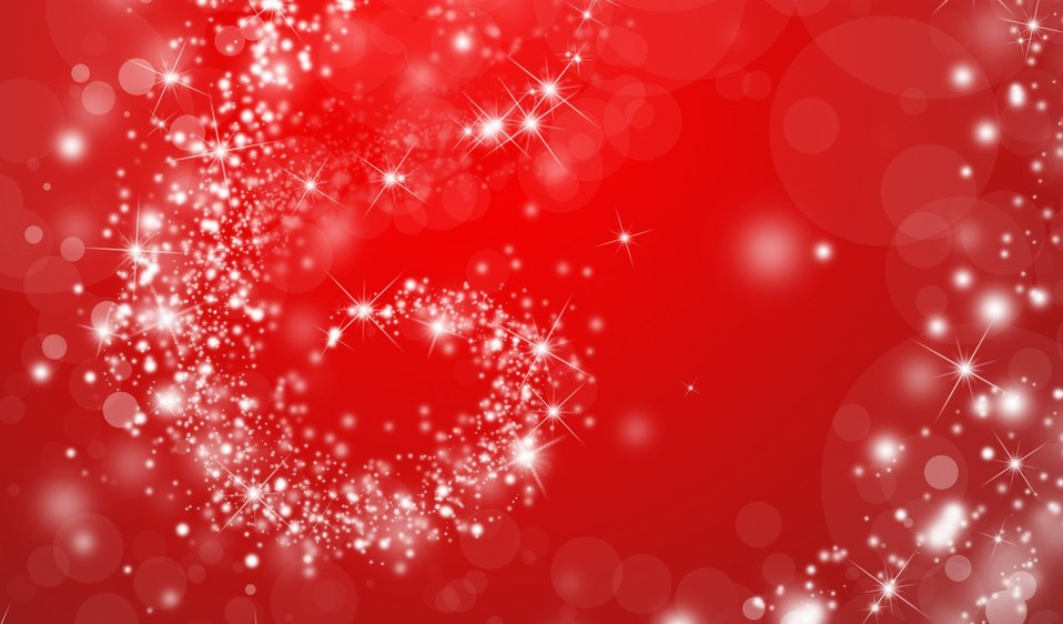 Red sparkly wallpaper swirl